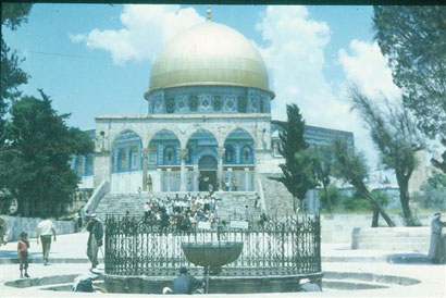 Felsendom in Jerusalem 1969