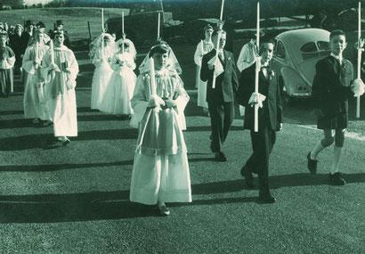 Feierliche Kommunion 1959