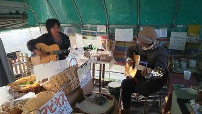畑の音楽会