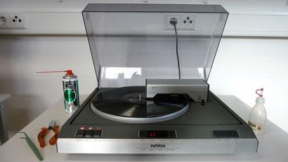 Revox B 791 - Schwerpunktgerät bei AudioContour