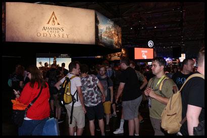 Assassins Creed Odyssey auf der Gamescom 2018