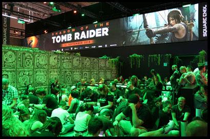 Tom Raider Gamescom 2018