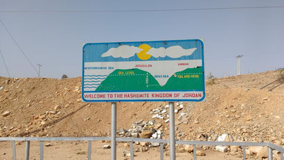Handy sign explaining the fact that the dead sea is indeed, below sea level. Dante Harker