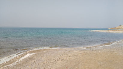 The serene dead sea at Amman Beach, Jordan. Dante Harker