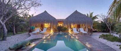 Just one of the superb villas at Azura Benguerra, Mozambique. Dante Harker