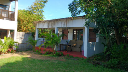 Gamboozini Lodge in Ponta Do Ouro, Mozambique. Dante Harker