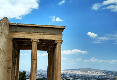 Temple at the Acropolis, Athens