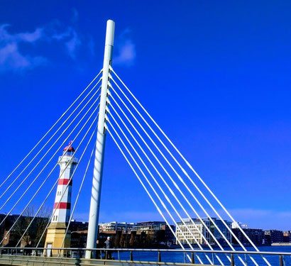 Famous bridge in Malmo