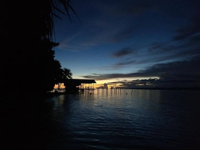 View from Mambetron Homestay, Raja Ampat