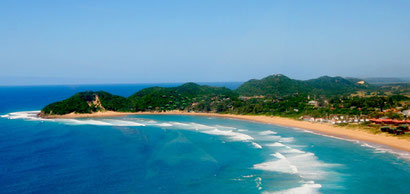 Ponta Do Ouro's gorgeous stretch of beach, Mozambique. Dante Harker