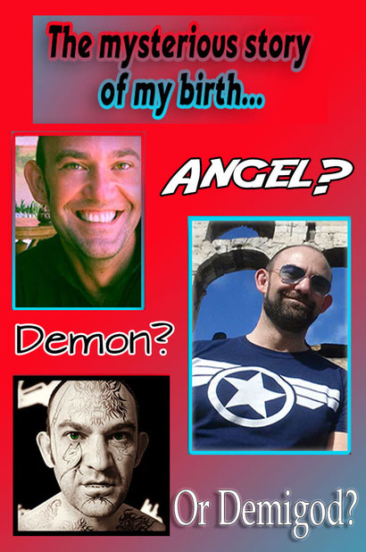 Angel Demon or Demigod - Dante Harker