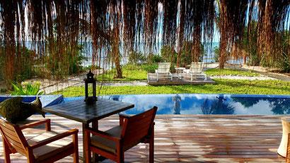 Our stunning villa at Azura Benguerra, Mozambique. Dante Harker