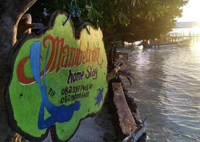 Mambetron Homestay on Kri island (Pulau Mansuar)