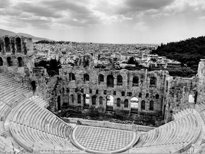 Ampitheatre at the Acropolis, Athens
