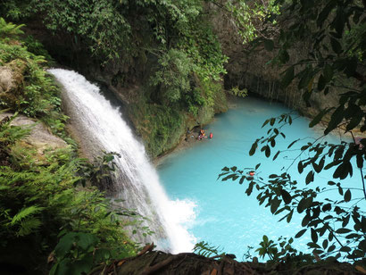 Kawasan Waterfall in the Philippines - Dante Harker