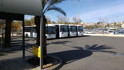 The Arab Bus Station - Jerusalem