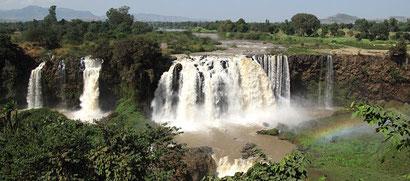 The Blue Nile Falls at Bahar Dar, Ethiopia. Dante Harker