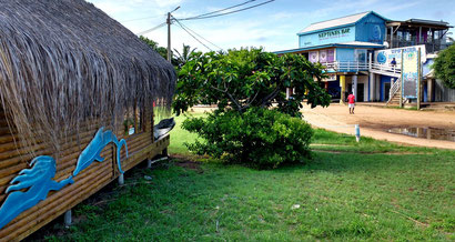The quaint centre of Ponta Do Ouro, Mozambique. Dante Harker