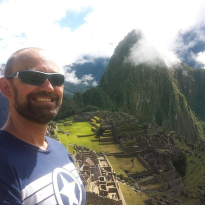 Dante Harker at Machu Picchu - how to visit Macchu Picchu on a budget