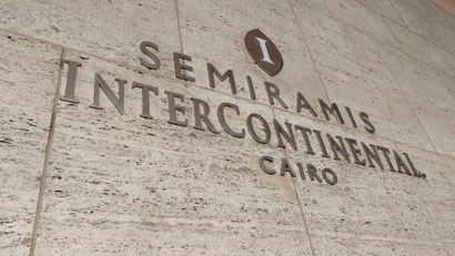 The Intercontinental Semiramis, Cairo, Egypt.