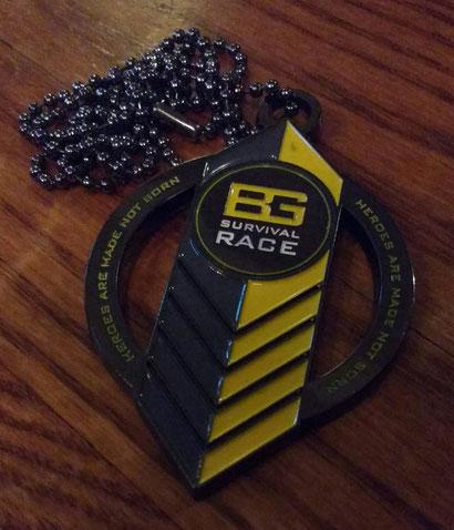 Our BGSR medal! - Dante Harker