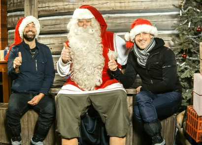 At least once in your life as a grown up you have to meet Santa - haha :) - Dante Harker