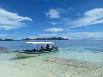 The amazing beaches at Raja Ampat, Indonesia