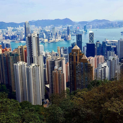 Hong Kong skyline - Dante Harker