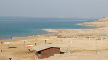 View of the dead sea, jordan. Taken from Amman Beach. Dante Harker