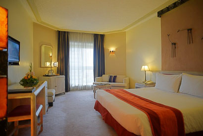 Rooms at the Laico Regency Nairobi have recently been renovated. Dante Harker
