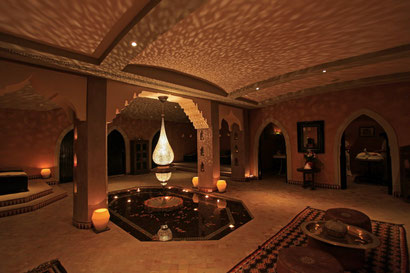 La Maison Arabe's spa is a tranquil oasis