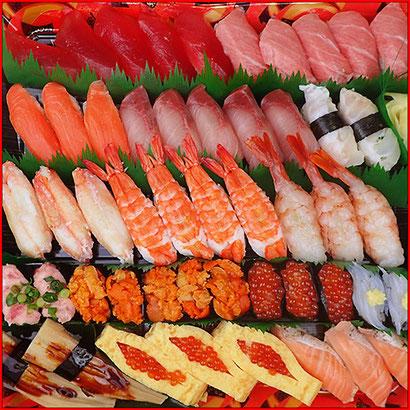 宅配寿司 ゴールデン・ウィーク 寿司の出前 限定品