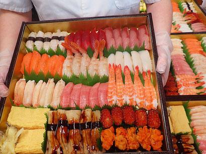 ゴールデン・ウィーク 宅配寿司 出前