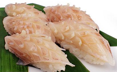 イカ耳のにぎり 松笠 イカ 宅配寿司