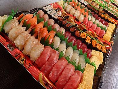 宅配寿司 大量注文 渋谷区