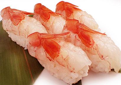 宅配寿司 新メニュー 赤海老づくし