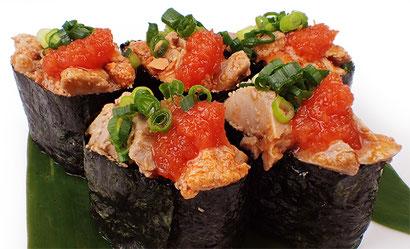 あん肝の軍艦 宅配寿司