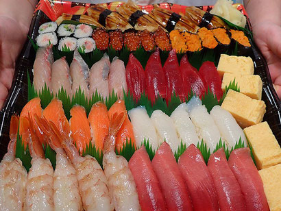 出前館半額セール 宅配寿司