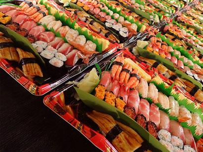 中央区 宅配 寿司