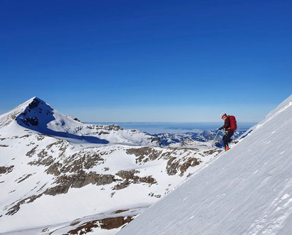 Skitour, Uri Rotstock, Schweiz, Uri, Isenthal, St. Jakob, Uri Rotstock, Brunnistock, Ruchstock, Altdorf