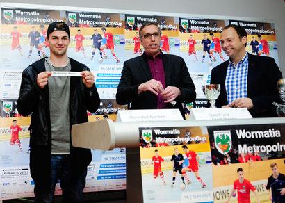"""Losfee"" Benedikt Gimber, Uwe Franz, Markus Beer (von links)"