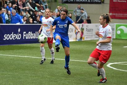 Anne van Bonn erzielte das 3:1 im Finale gege den 1. FC Köln.