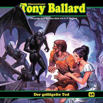 CD-Cover Tony Ballard - Der geflügelte Tod