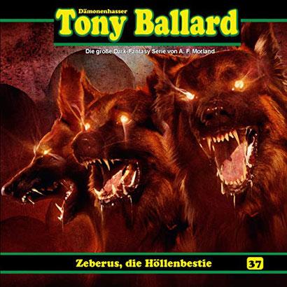CD-Cover Tony Ballard - Zerberus, die Höllenbestie