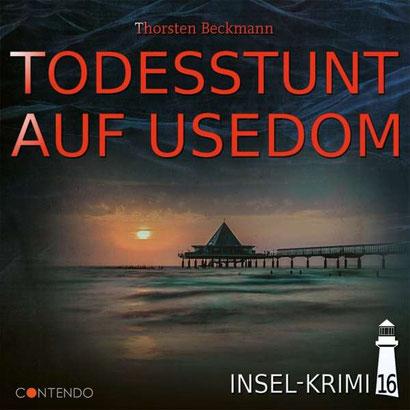 CD-Cover Todesstunt auf Usedom