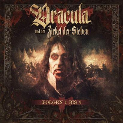 CD-Cover Sammelbox Dracula und der Zirkel der Sieben