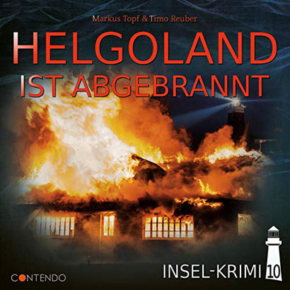 CD-Cover Helgoland ist abgebrannt