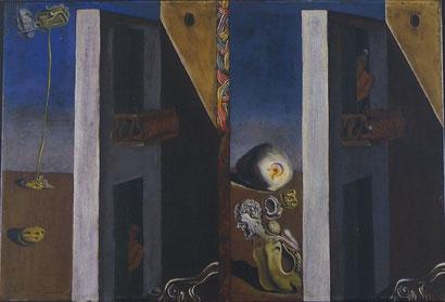 Два балкона - Сальвадор Дали