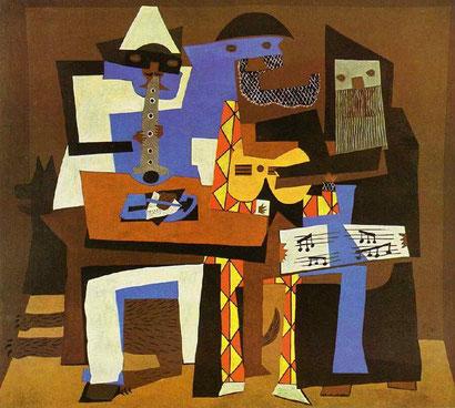 Три музыканта - Пабло Пикассо