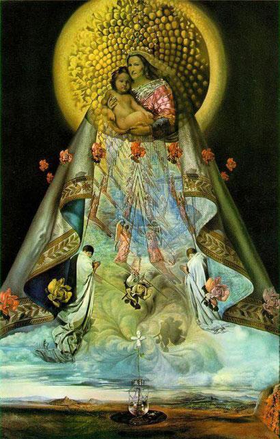 Дева Мария Гваделупская - Сальвадор Дали (1959)